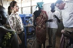 Crown Princess Mary visited the Tierkidi refugee camp in Gambella, Ethiopia (Day 1).16/02/2015
