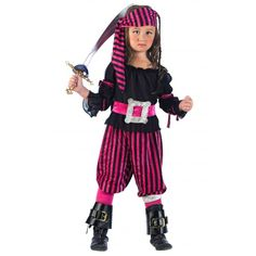 Como hacer un disfraz de pirata para niña casero - Imagui