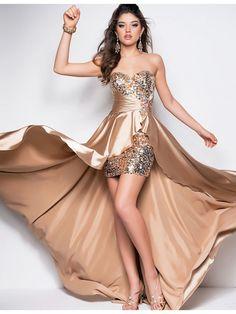 how to make a short prom dress longer