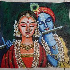 Madhubani Art, Madhubani Painting, Art Painting Gallery, Mural Painting, Krishna Painting, Krishna Art, Art Drawings For Kids, Art Drawings Sketches Simple, Indian Art Gallery