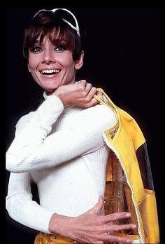 Audrey Hepburn photographed by William Klein,1966