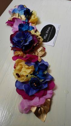 Cinturón de flores cinturones de flores complementos invitada invitadas invitada perfecta