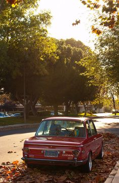 BMW 2002, another great classic BMW shape.