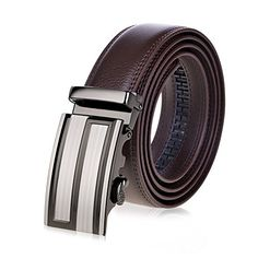 Leather Automatic Buckle Layer Leather Belt,Mens Brief Vogue Leather Belt Christmas Gift Leather Belt,Great For Jeans Casual Cowboy Work Wear