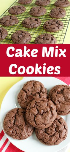Simple Cake Mix Cookies to Bake