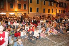 It's family time!  Notte Bianca Locarno 30th May 2015