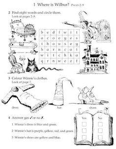 Resultado de imagen para winnie the witch activities to print