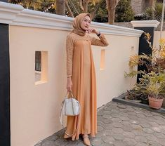 Dress Muslim Modern, Dress Brokat Modern, Kebaya Modern Dress, Muslim Dress, Dress Brokat Muslim, Kebaya Muslim, Modern Hijab Fashion, Batik Fashion, Indian Fashion Dresses
