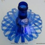Cómo hacer una lámpara reciclando dos botellas de plástico de Solán de Cabras