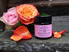 Review | Botanicals - Revitalising Mask Rose clay and Rosehip | Sara Steele | Organic + Natural Hair & Beauty Blogger