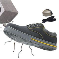 new product 0d173 9c54a SUADEEX Femme Homme Chaussures de Sécurité Chaussure de Travail avec Embout  de Protection en Acier Et