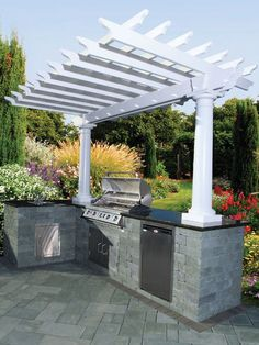 houzz deck and patio with kitchen   To inquire about creating a custom outdoor kitchen or patio in your ...