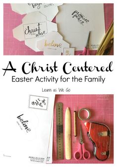 Are you looking for Christ-centered activities for Easter? I have one for you today that is great for all ages! #hallelujah