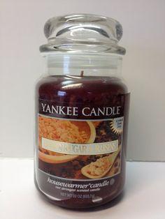 Yankee Candle 22 oz Brown Sugar & Raisins--RARE!!