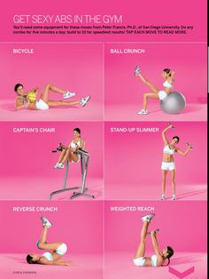 Get Sexy Abs in the Gym Challenge yourself onwww.gymra.com/... #health #fitness #exercise #workout
