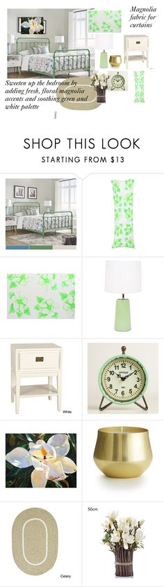 """""""Southern Floral Charm"""" by canoe-communicationsblog ❤ liked on Polyvore featuring interior, interiors, interior design, home, home decor, interior decorating, Inspire Q, Lights Up!, Antique Revival and Cost Plus World Market"""
