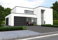 45 Ideas Exterior Facade House Modern For 2019 Bungalow Exterior, Modern Exterior, Ikea Exterior, Exterior Colors, Exterior Paint, House Doors, Facade House, Cool House Designs, Modern House Design