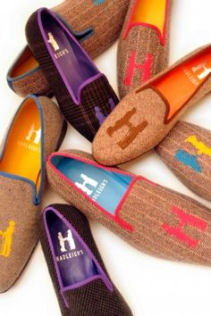 Hadleigh's H slippers