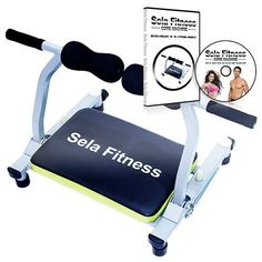 Sela fitness Total Body Exercise machine Ab Workout Fitness Trainer Home Gym Equipment Machine with DVD 35 minute guide >>> Check this awesome product by going to the link at the image.