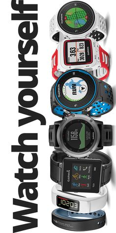 Running, biking, swimming - Check out sport watches from Garmin including the fenix, vivoactive, and Forerunner series.