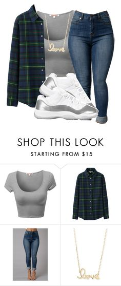 """""""Right My Wrongs"""" by wateveruwant ❤ liked on Polyvore featuring Uniqlo and Sydney Evan"""