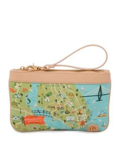 organic cotton spring purse Mermazing Fantasy Mermaid Statement Any Colour micro make up bag