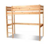 Kis alapterületű szobákban ideális megoldás, amikor az ágy által elfoglalt helyet is hasznosíthatjuk. Az ágy jelentős megemelése révén kényelmesen elfér alatta akár egy kis játszótér, vagy tanulósarok is. A kedvező ár mellett megemlíthetjük azt is, hogy masszív, stabil ez a típusú galéria ágyunk is.  Az ár natúr-lakkozott kivitelben értendő. Pácolt rendelés esetén felárat számolunk fel (+ 10%) Részletes leírás a Pácminták Fenyőbútorokhoz – Mil pác színek kategórián belül található.