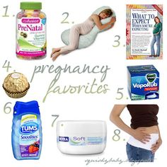 Pregnancy must have items
