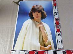 3029松田聖子ポスター ジャケット羽織り B2サイズ_画像1