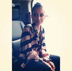Nicole Richie, Richie Rich, Joel Madden, Rocker Chic, Me As A Girlfriend, Ruffle Blouse, Victoria, Plaid, Style Inspiration