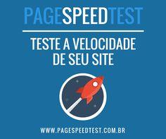 A performance de seu site é um dos principais fatores de rankeamento do Google.  Já testou seu site? www.pagespeedtest.com.br  #seo #speedtest #google #sem #marketingdigital #startup #performance #website #site Marketing Digital, E-mail Marketing, E Commerce, Website, Google, Factors, Ecommerce