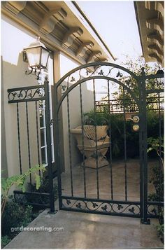 1000 images about portones on pinterest puertas gates and casa de campo - Puertas de hierro para patios ...