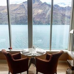 Time for a generous serving of majestic mountain views. Photo by @askthebutcher_ #MatakauriLodge #NewZealand