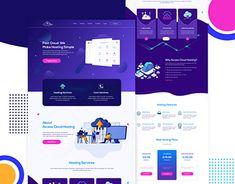 Homepage Design, Ui Design, Personal Portfolio, Landing Page Design, Email Templates, Mobile Design, Working On Myself, Website Template, New Work