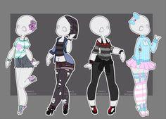 DeviantArt: More Like Gachapon outfits 18 by kawaii-antagonist
