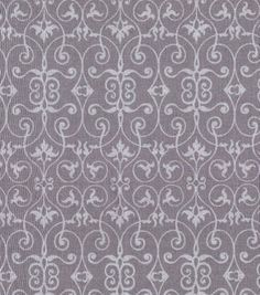 Quilter's Showcase Fabric- Scrolling Gate Gray