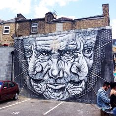Street Art in London - A Visual Diary - Romana Avila Graffiti Wall Art, Street Art Graffiti, Mural Art, London Street, London Art, Design Tattoo, Amazing Street Art, Visual Diary, Outdoor Art