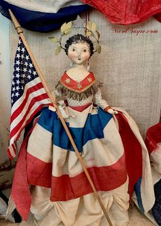 Fourth Of July Decor, 4th Of July Celebration, 4th Of July Decorations, July 4th, Patriotic Images, Modern Toys, Tiny Prints, Red Fabric, Woman Painting