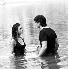 The Vampire Diaries Elena and Damon