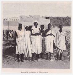 Somalia, Indigenous authorities 1901