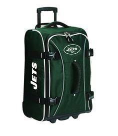Athalon New York Jets NFL 21' Wheeling Hybrid Luggage Carryon *** Visit the image link more details.