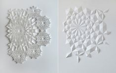 Stunning Paper Art by Matt Shlian
