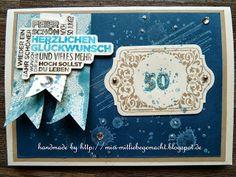 Geburtstagskarte mit Gorgeous Grunge und Tafelrunde.