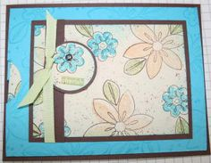 Splitcoaststampers - Slider Card Project Tutorial by Beate Johns