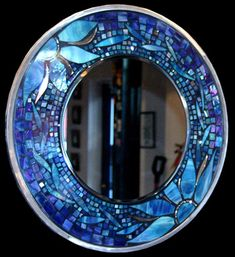I would love to make this for my Mom.  My Grandma was great with stained glass.
