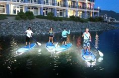 Get LED paddle boards and do this fun outdoors activities at night!!! http://jiver.com/gift-category/outdoor/