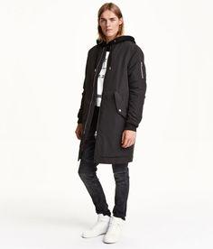 H&M Long Bomber Jacket