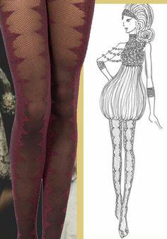 EVAN High Socks, Stockings, Age, Embroidery, Style, Fashion, Socks, Moda, Needlepoint