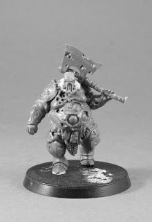 WilhelMiniatures: WIP: Nurgle Prophet & Retinue