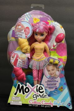 """Moxie Girlz Cotton Candy Style Avery Doll with Accessories 10"""" Tall NEW in Dolls & Bears, Dolls, By Brand, Company, Character 